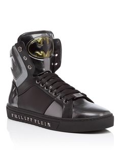 "PHILIPP PLEIN HIGH SNEAKERS ""BLING"". #philippplein #shoes #"