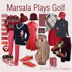 Golf Fashion Meets the 2015 Color of the Year