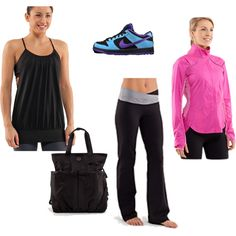 Work out time., created by marcella88 on Polyvore