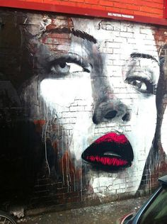 Street Art Graffiti - Fitzroy, Melbourne                                                                                                                                                                                 More