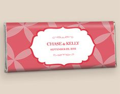 Coral Hitched #WrappedHersheys #customcandy #hersheybarwrappers #personalizedcandy