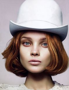 """Call of the Wild"" | Model: Natalia Vodianova, Photographers: Mert Alas & Marcus Piggott, W Magazine, August 2006"