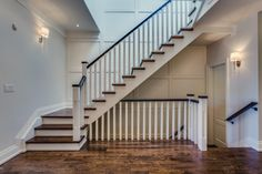 Five Important Tips to Optimize Your Basement Design Idea – House Viral Gossip Open Basement Stairs, Open Stairs, Traditional Staircase, Modern Staircase, Metal Stair Railing, Home Addition Plans, Staircase Remodel, House Stairs, Entry Hallway