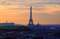 Paris. December 2009. By NikitaDB. View on Tour Eiffel. *
