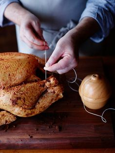 Tip 6: #Trussing your #turkey makes it look professional and pretty!