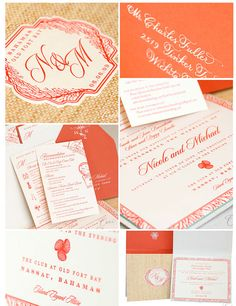 Top Left Corner:  I like the idea of styling my Logo after this format. M & B with Petals and Plumes underneath it. The shape of the paper, and the placement of the Monograms is great.