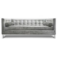 Modern Sofas and Sectionals   Upholstered Lampert Sofa   Jonathan Adler