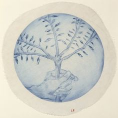 Available for sale from Carolina Nitsch Contemporary Art, Louise Bourgeois, Untitled Drypoint on cloth (round) with unhemmed edges, 14 × 14 in Modern Art, Contemporary Art, Tracey Emin, Louise Bourgeois, Feminist Art, Global Art, French Artists, Abstract Sculpture, Art Market