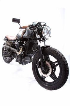 """Moto-Mucci: DAILY INSPIRATION: 1981 Honda CX500 """"Howler"""" by Nathan Godillon"""