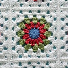 Get free pattern and tutorial on how to crochet a sunburst granny square blanket. Tips on storage and squares arrangement while working on it. – Page 2 of 2