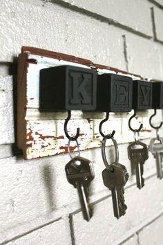 Baby Blocks Key Chain