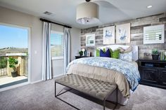 Viewpoint Plan 3 Master Bedroom | New Homes Coming to Canyon Hills