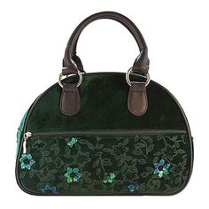 This exquisite handbag is the ultimate winter accessory. Green Silk, Winter Accessories, Clematis, Emerald Green, Velvet, Bags, Fashion, Handbags, Moda