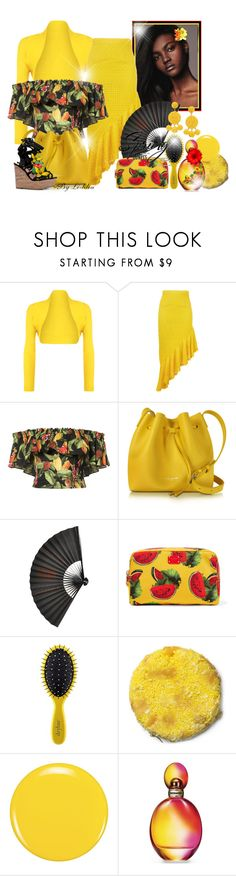 """""""~Hello Spring!~"""" by li-lilou ❤ liked on Polyvore featuring WearAll, Daizy Shely, Isolda, Lancaster, Dolce&Gabbana, Drybar, Zoya, Missoni and Humble Chic"""