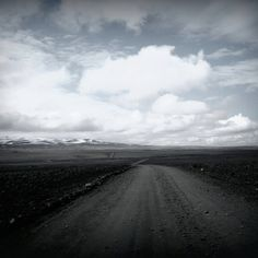Lava fields. Iceland