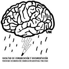 Logo presentado para la Facultad de Comunicación y Documentación de la Universidad de Murcia