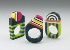 Bettina Welker's rings are so much FUN!