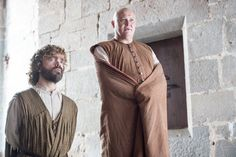 Peter Dinklage as Tyrion Lannister and Conleth Hill as Varys in #GoTSeason6. #GameofThrones