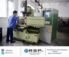 High Precision #InjectionMolding!!! RSP uses advanced molding techniques including face-mounted inserts, quick mold change systems, rheologically balanced runners, and CNC surfac e grinding.