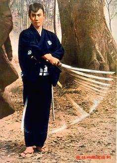 Ichikawa Raizo as Nemuri Kyoshiro in the classic SLEEPY EYES OF DEATH series.
