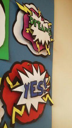 New pop art artists middle school ideas Middle School Art Projects, Art School, Middle School Crafts, Primary School Art, School Kids, School Projects, 8th Grade Art, 3rd Grade Art Lesson, Ecole Art