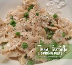 Farfalle With Tuna And Rosemary Mushroom Sauce Recipe — Dishmaps