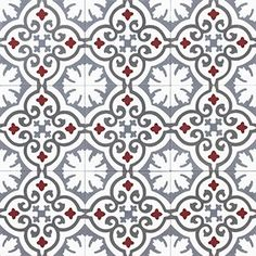 Moroccan Cement tiles are durable, easy to clean and naturally insulating. Cement tiles gives that beautiful ethnic edge on your home Islamic Patterns, Tile Patterns, Textures Patterns, Vinyl Tiles, Wall Tiles, Cement Tiles, Vitromosaico Ideas, House Tiles, Tiles Texture