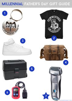 Millennial Father's Day Gift Guide: This ain't yo daddy's gift guide! Finally, a little something for the chill, millennial dads! #‎braunfordads‬ ‪#‎givegreatness‬