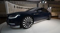 Giant luxury: up close with the Lincoln Continental concept