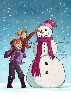 Anna Rettberg: Snowman