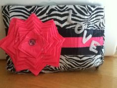 Twitter / girliegirlk: ducktape clutch! The insid
