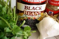 How to Make Low Calorie Black Bean Dip