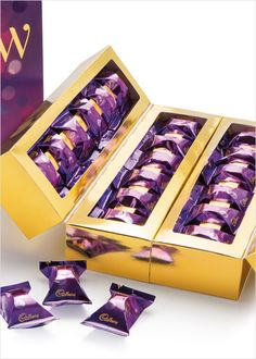 Pearlfisher Designs Branding and Packaging for Cadbury 'Glow' Packaging Design, Branding Design, Logo Design, Graphic Design, Chocolate Pack, Brand Architecture, Packaging Solutions, Usb Flash Drive, Brand Design