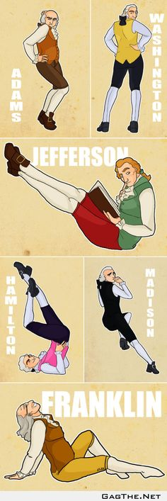 Founding father pin-ups funniest thing i have ever seen cant stop laughing!!!