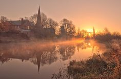 Credit: Steve Cole Sunrise on the River Soar – dawn and dusk are the best time to see bats along rivers and canals. Last year's cold winter ...