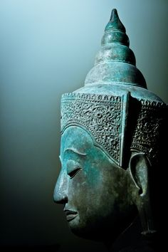 Meditation Buddha Thailand, century Musée Guimet, Paris, France by Albert Campra