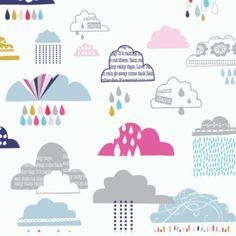 Dashwood Studio Rain Or Shine Rain Clouds Multi