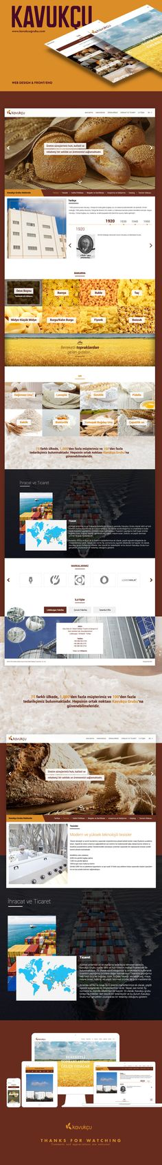 KAVUKCU Web Design , Front&endOnepage, responsiveAgency: OrBiT