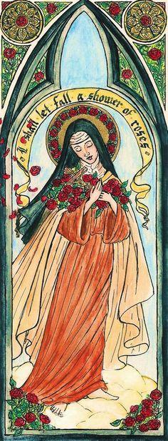 Santa Terezinha do Menino Jesus / 01 de Outubro.