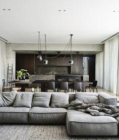 prosta kanapa z szezlongiem bocznym, oczywiście do mojego mieszkania dużo mniejsza