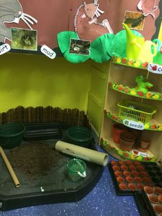 Role play, messy play, exploring fun in Percy the park keepers underground house :) Kid Activites, Eyfs Activities, Activities For Kids, Percy The Park Keeper, Discovery Zone, Story Sack, Role Play Areas, Dramatic Play Centers, Underground Homes