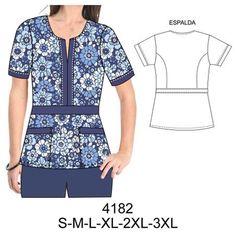 Delantales Dental Uniforms, Scrubs Pattern, Teacher Dresses, Cute Scrubs, Corporate Uniforms, Scrubs Uniform, Nurse Costume, Medical Scrubs, Nursing Clothes