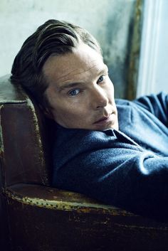 Benedict Cumberbatch...oh my I sure wouldn't mind sitting next to him and staring into those eyes!! Yum!