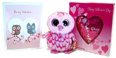 Really clever Valentine's Bundle! Ty Beanie Boo Owl and Dove Chocolate Valentine Heart Bundle - Includes Gift Card: Owl always love you! Mixed http://www.amazon.com/dp/B00SAJZPOO/ref=cm_sw_r_pi_dp_O1eYub1TR39YE