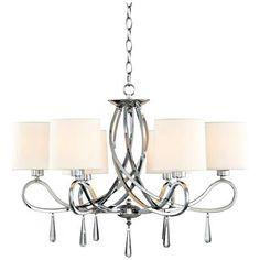 "Ariano 27 1/4""-W 5-Light Chandelier by Possini Euro Design - #T8825   www.lampsplus.com"