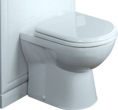 Tavistock Micra Soft Close Back to Wall Toilet WC