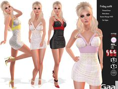 Friday Fitmesh Outfit Promo Second Life. The Friday outfit is currently available at a promo price for a limited time. This promo includes the