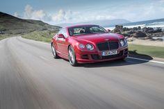 Bentley is showcasing the new GTSpeed