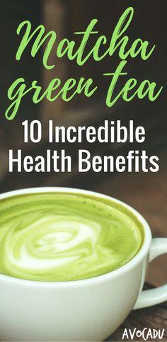 Matcha Green Tea Benefits | Healthy Drinks to Lose Weight | Matcha Green Tea for Weight Loss | http://avocadu.com/10-incredible-health-benefits-of-matcha-green-tea-powder/