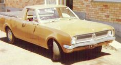 The only Holden I have ever owned. 3.3 litre 6 that was no speedster